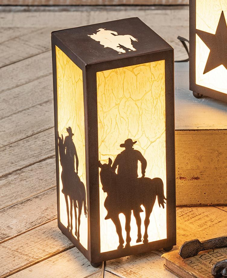 Southern Nights Cowboy Nightlight