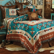 Southwest at Heart Tapestry Coverlet - Queen