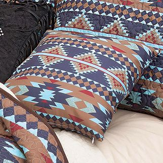 Southwest Aztec Accent Pillow