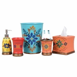 Southwest Bloom Bath Accessories