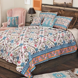 Southwest Bloom Quilt Bedding Collection - CLEARANCE