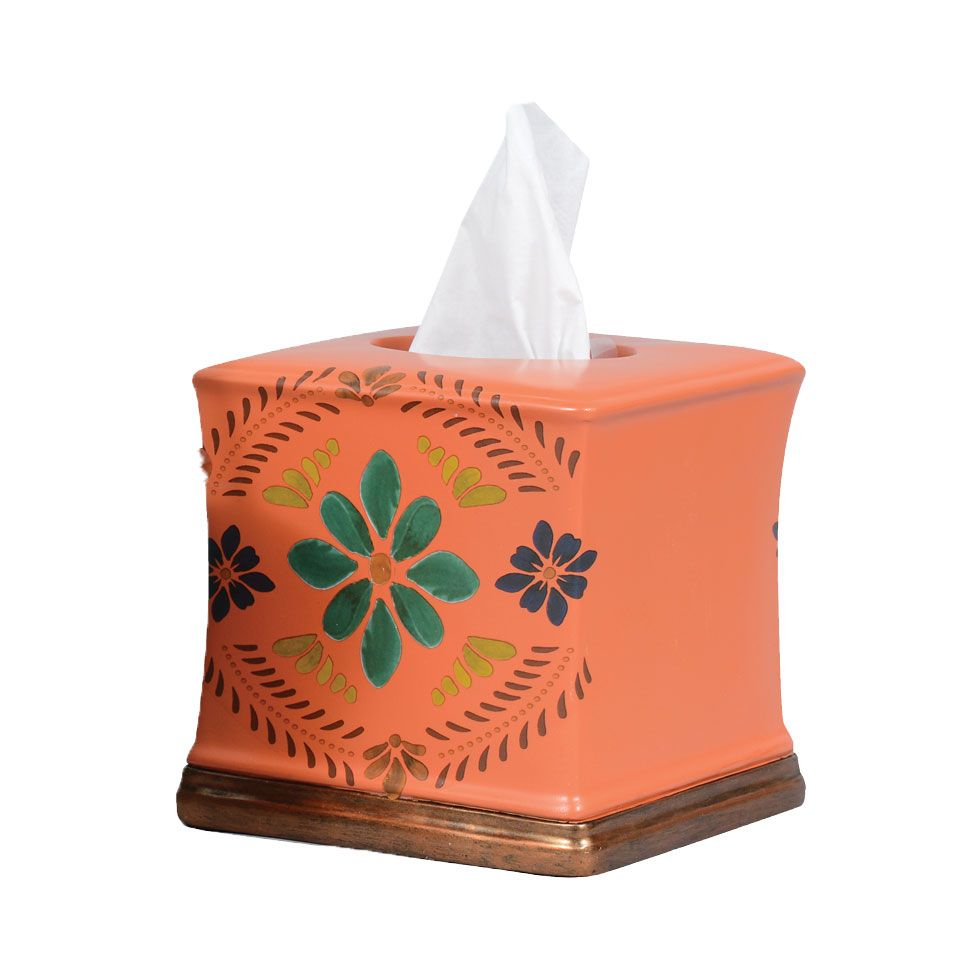 Southwest Bloom Tissue Box - OUT OF STOCK - ETA 11/13/2020
