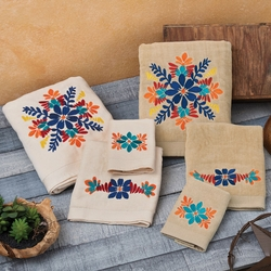 Southwest Bloom Towel Sets