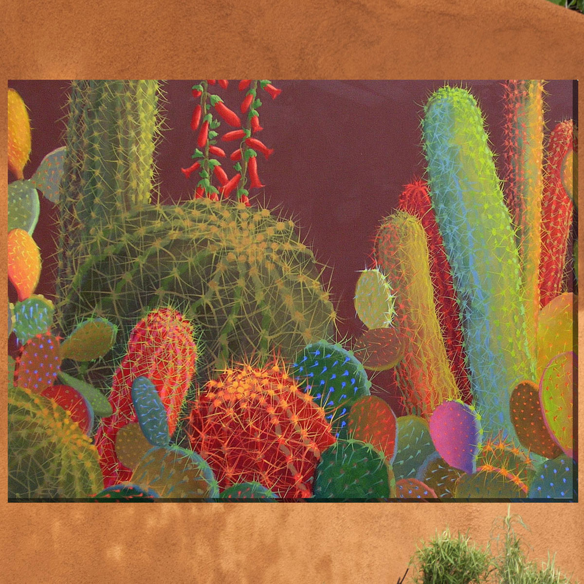 Southwest Botanicals VII Canvas Art