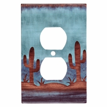 Southwest Cactus Outlet Cover