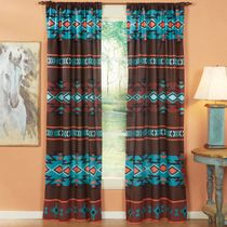Southwest Canyon Lined Drapes