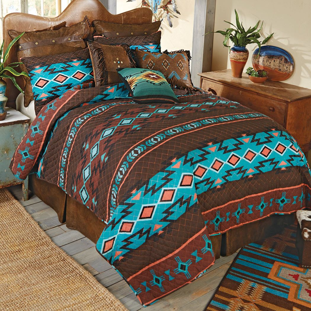Southwest Canyon Quilt Set - Queen - CLEARANCE