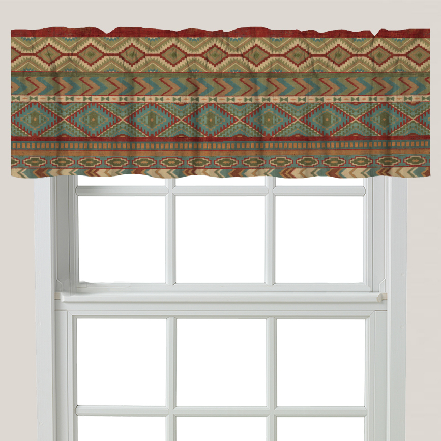 Southwest Collage Valance