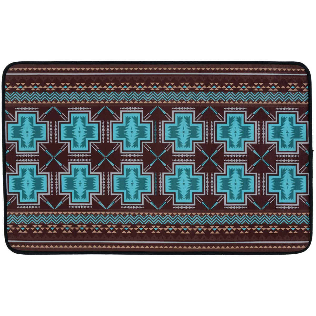Southwest Cross Bath Mat