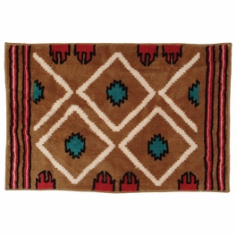 Southwest Diamond Kitchen/Bath Rug