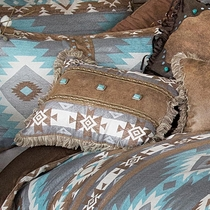 Southwest Diamonds Concho Pillow