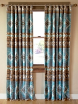 Southwest Diamonds Drapes