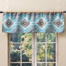 Southwest Diamonds Valance