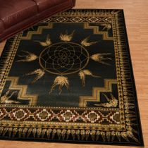Southwest Dreams Green Rug - 4 x 5