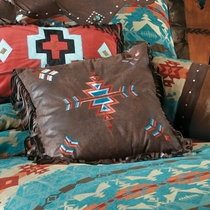 Southwest Embroidered Pillow