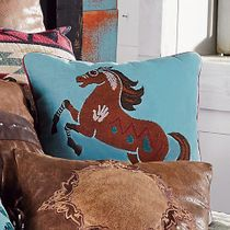Southwest Expressions Horse Accent Pillow