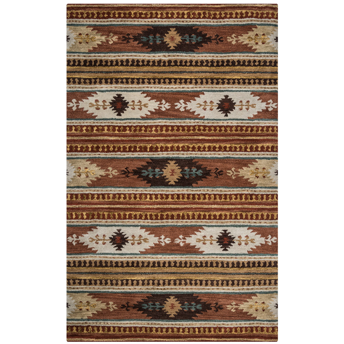 Southwest Gala Rug - 8 Ft Round