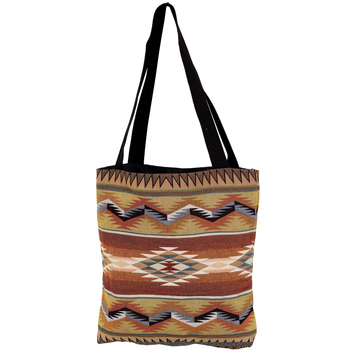 Southwest Geometric Flame Tote Bag