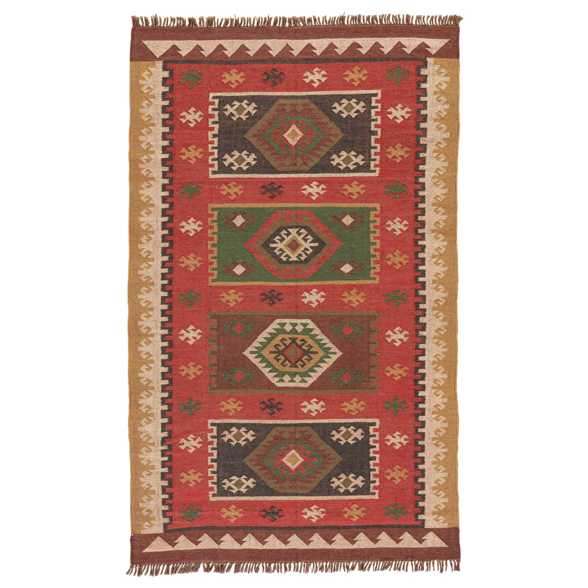 Southwest Harvest Rug - 5 x 8