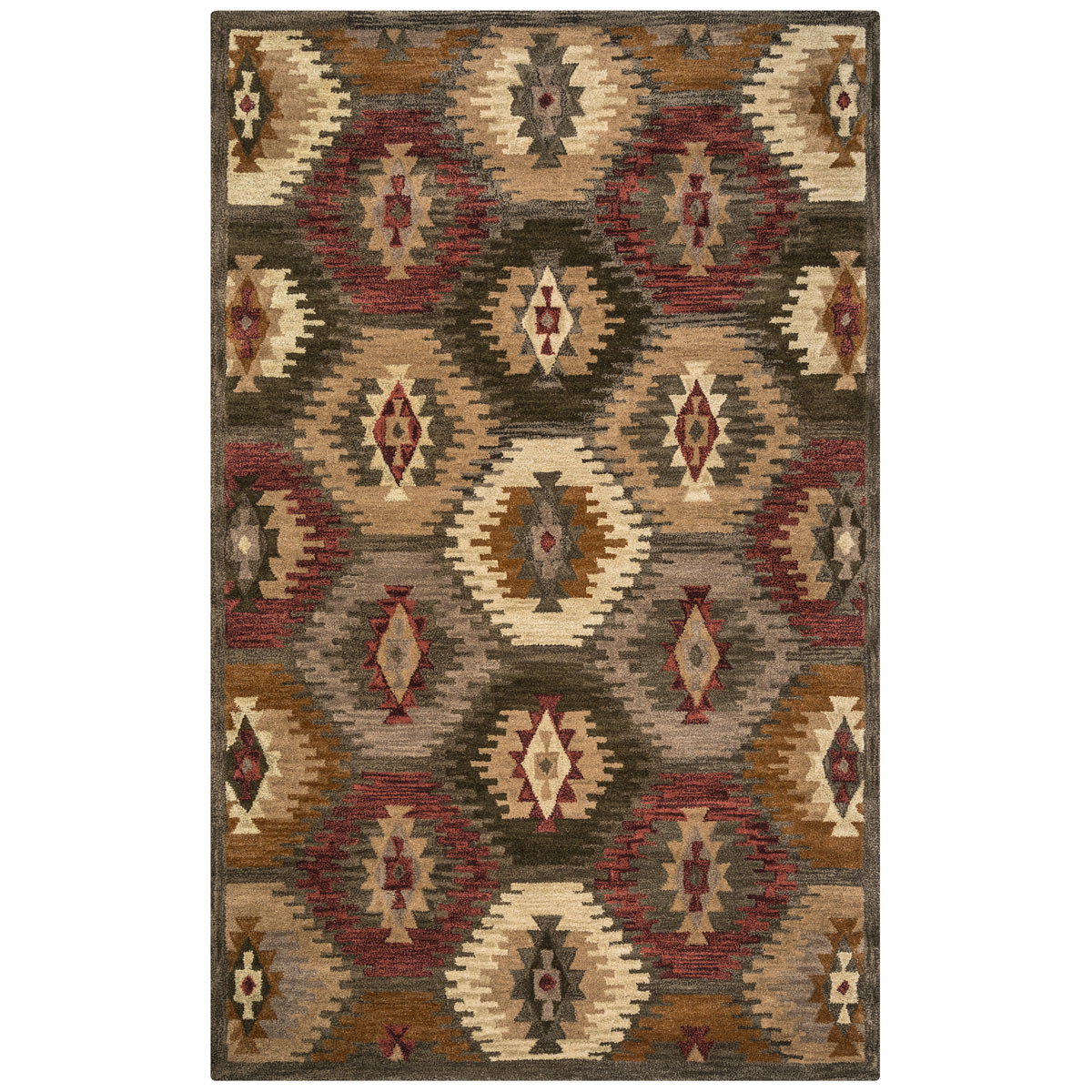Southwest Honeycomb Rug - 3 x 5