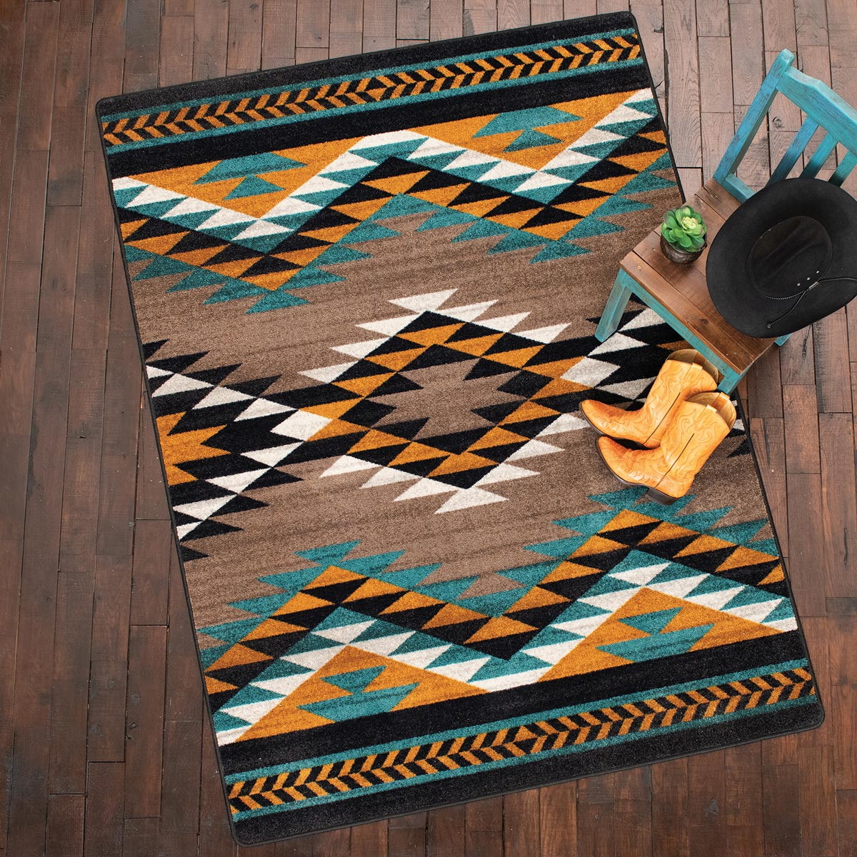Southwest Horizon Rug - 2 x 8