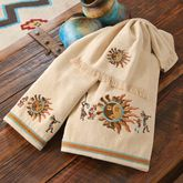Southwest Kokopelli Dance Towel Collection