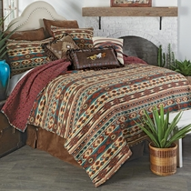 Southwest Mesa Quilt Set - Queen
