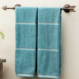Southwest Metal Arrow Towel Bar