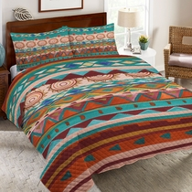 Southwest Mood Quilt Set - Queen