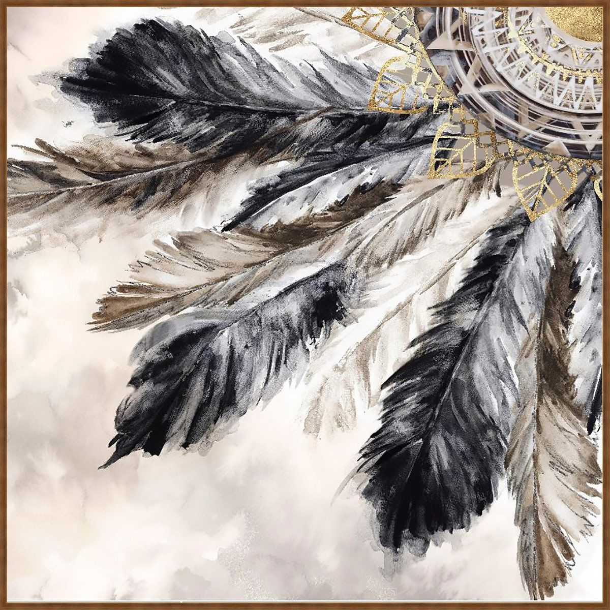 Southwest Plumage I Canvas Art