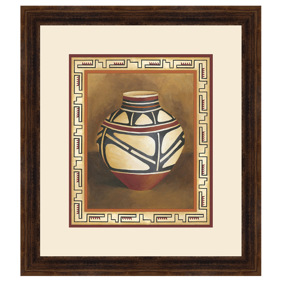 Southwest Pottery I Framed Print