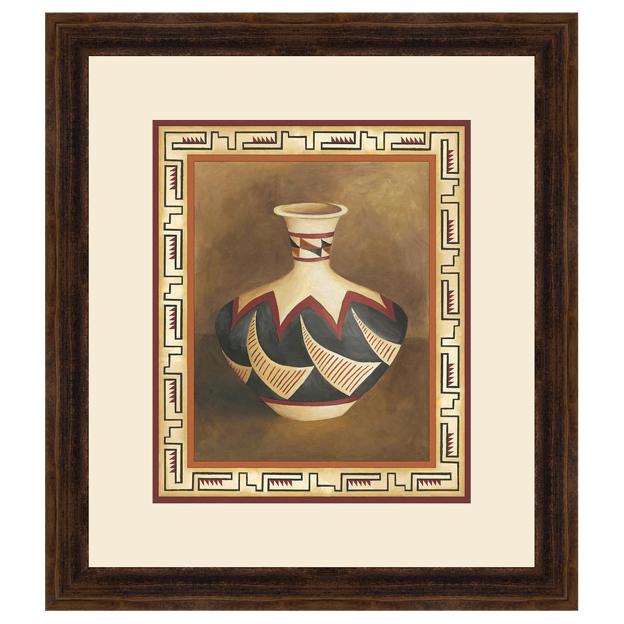 Southwest Pottery II Framed Print