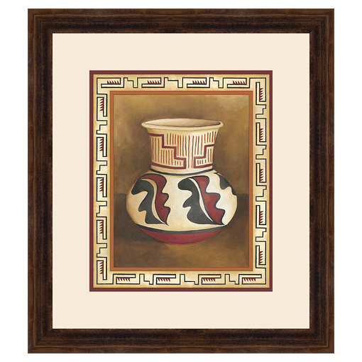Southwest Pottery III Framed Print