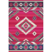 Southwest Rains Cherry Rug - 2 x 7