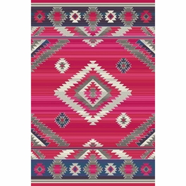 Southwest Rains Cherry Rug Collection
