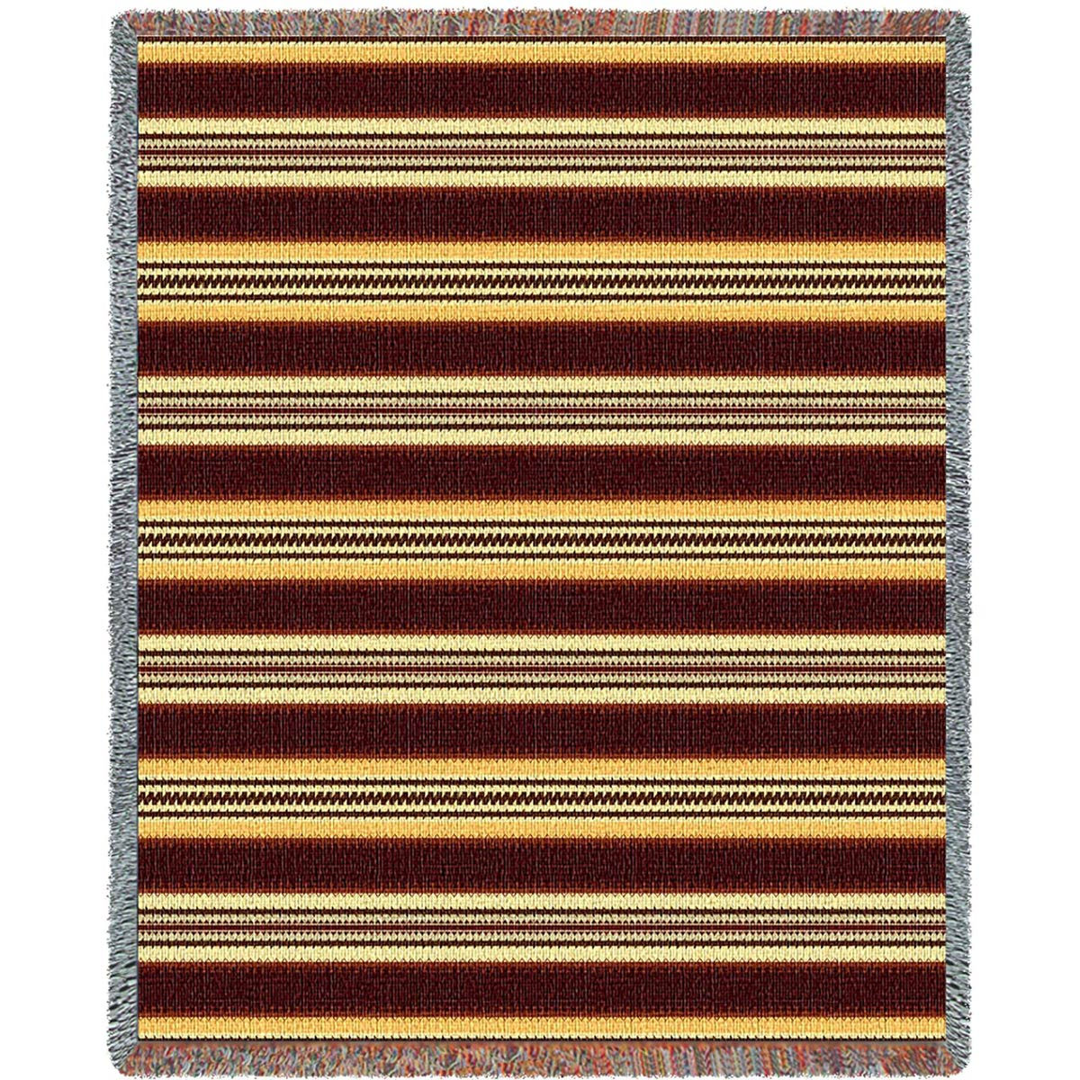 Southwest Saddleblanket Gold Throw