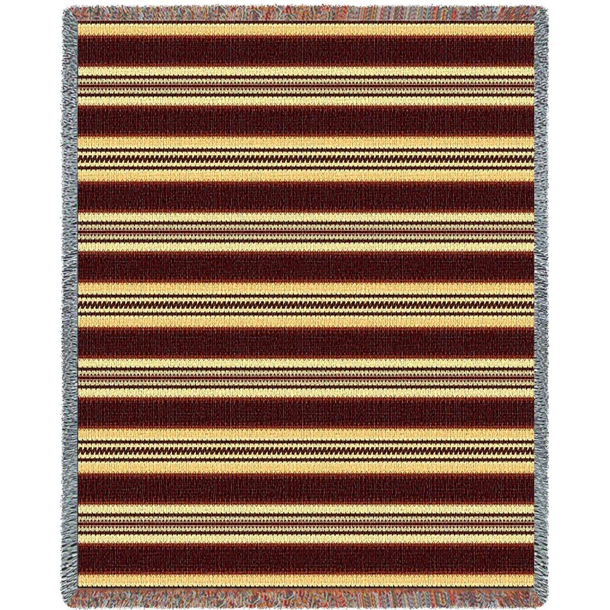 Southwest Saddleblanket Natural Throw