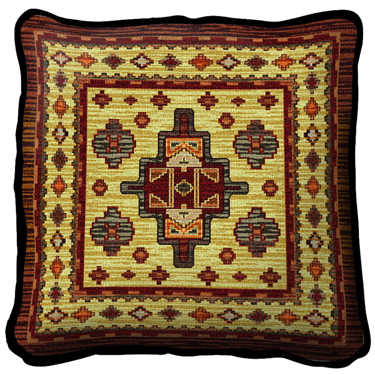 Southwest Sampler Sunset Pillow