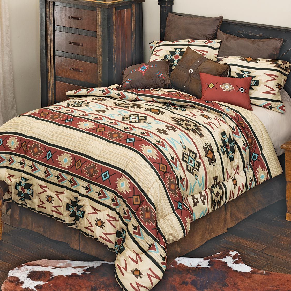 Southwest Sedona Bed Set - Queen