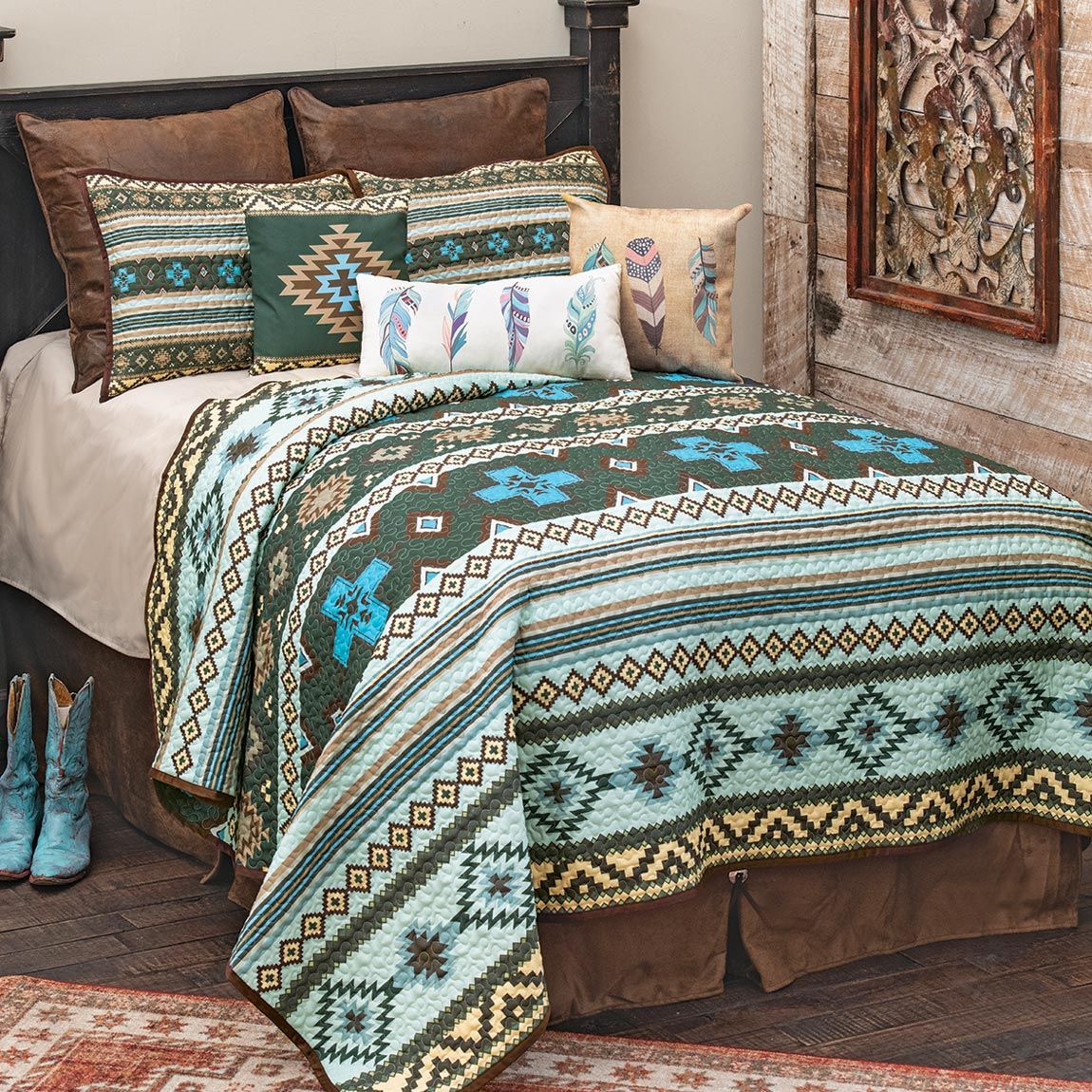 Southwest Skies Bed Set - Queen