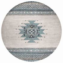 Southwest Skies Rug - 8 Ft. Round