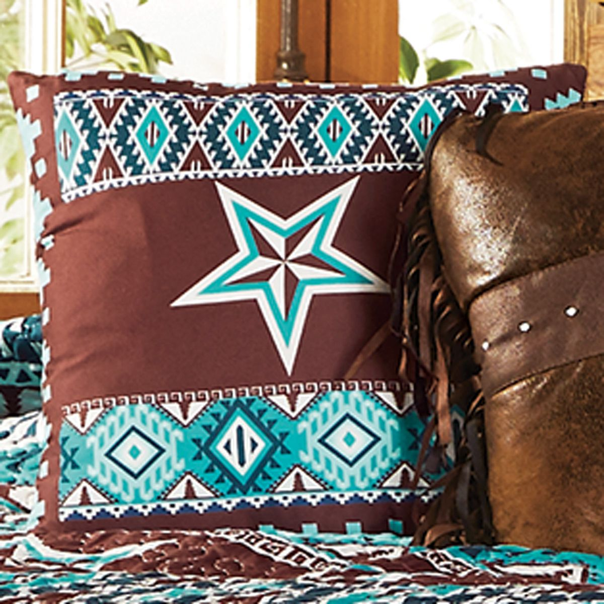Southwest Star Accent Pillow