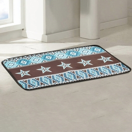 Southwest Star Bath Mat