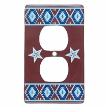 Southwest Star Outlet Cover - CLEARANCE