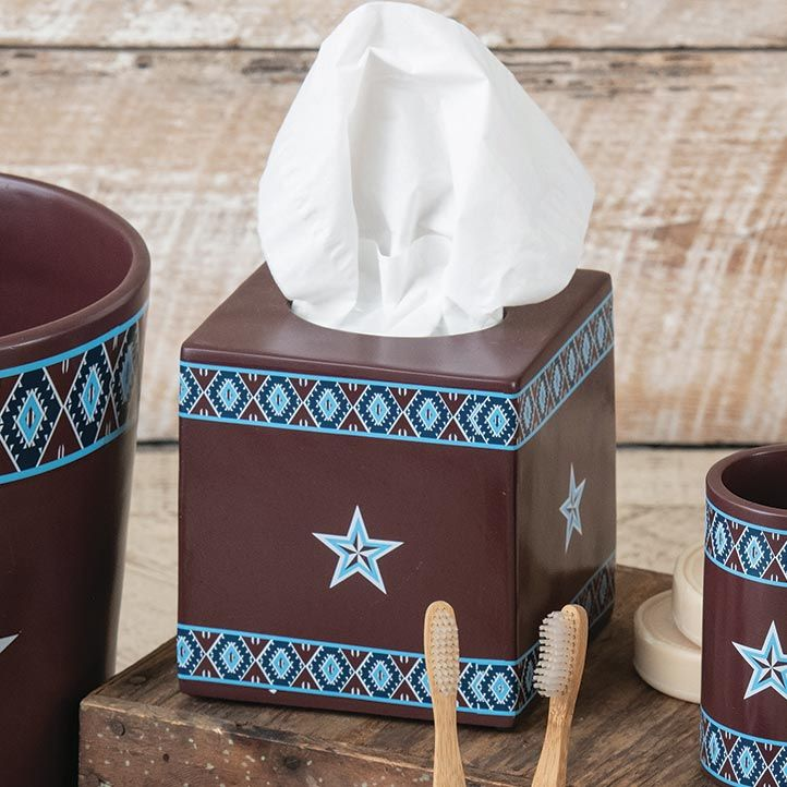 Southwest Star Tissue Box - CLEARANCE