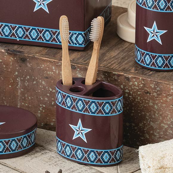Southwest Star Toothbrush Holder - CLEARANCE