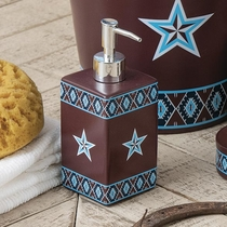 Southwest Star Toothbrush Holder