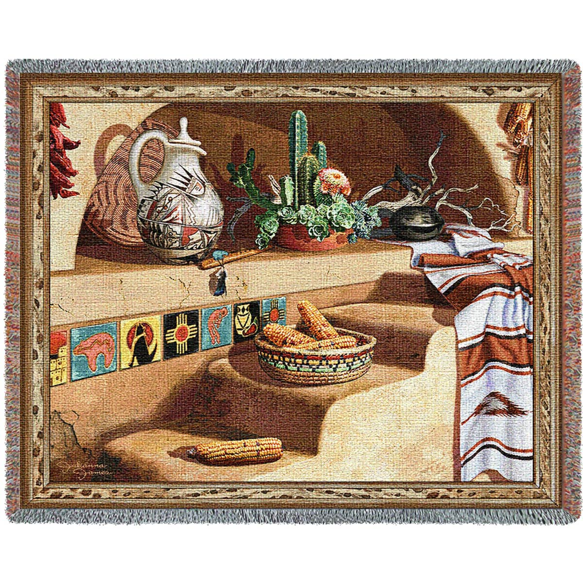 Southwest Still Life Blanket