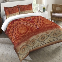 Southwest Sun Duvet Cover - Twin -  OVERSTOCK