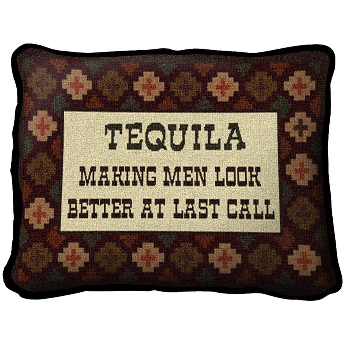 Southwest Tequila Call Pillow